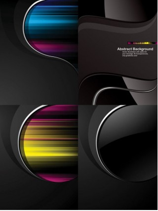 black background vectors