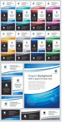 business card background 01 vector
