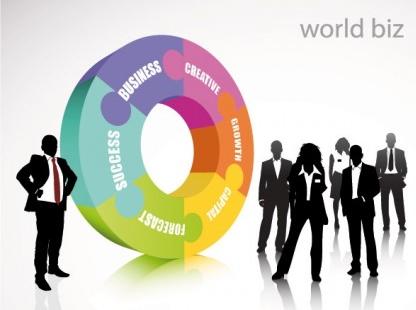 business concept elements 06 vector