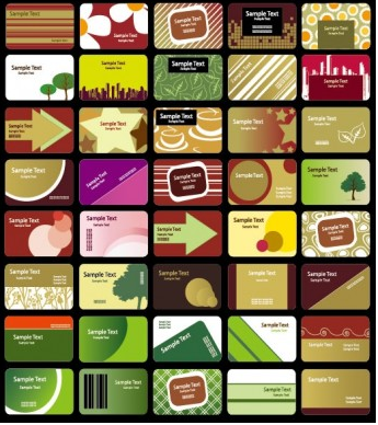 card background 01 vectors graphics