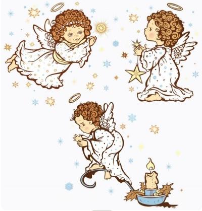 cartoon angel vector graphics