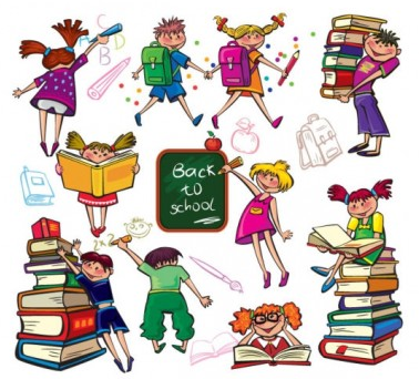 cartoon child illustration 03 vector