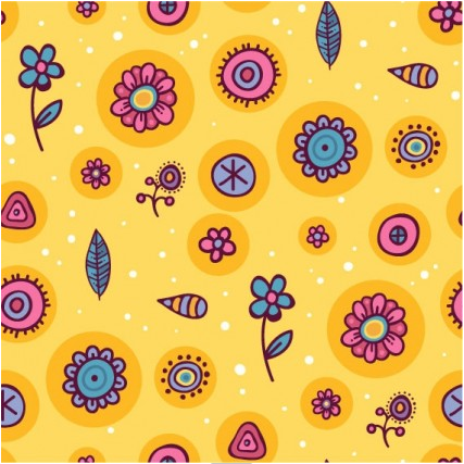 cartoon pattern background 05 vectors