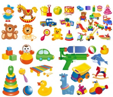 cartoon toy vector