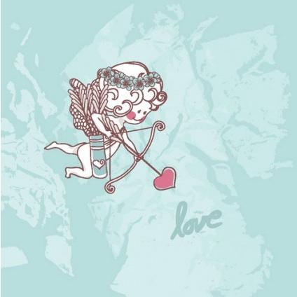 cartoon valentine illustrator 03 vector graphics