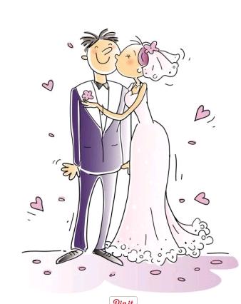 cartoons wedding elements 01 vector