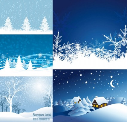 christmas snow vector design