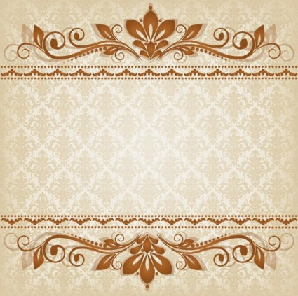 classic lace pattern 03 shiny vector