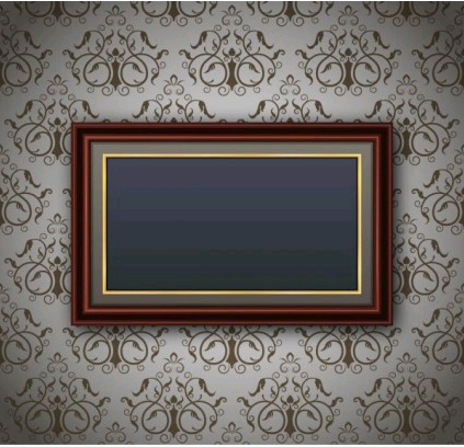 classic pattern border 02 vector graphic
