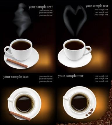 coffee theme Illustration vector
