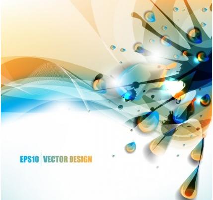 color paint splashes background 05 vectors