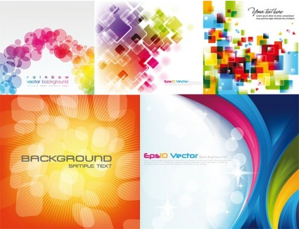 cool colorful background vector graphic