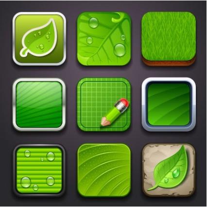 creative environmental icon 02 vector