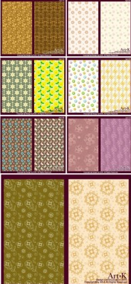 cute little pattern background vectors graphics