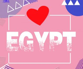 Egypt Poster Background Photo