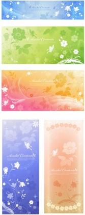 dream elegant background pattern vectors material