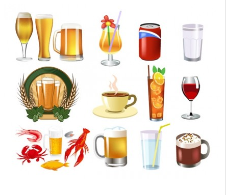 drink beer and other vector graphics