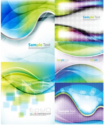 dynamic background Vector 03