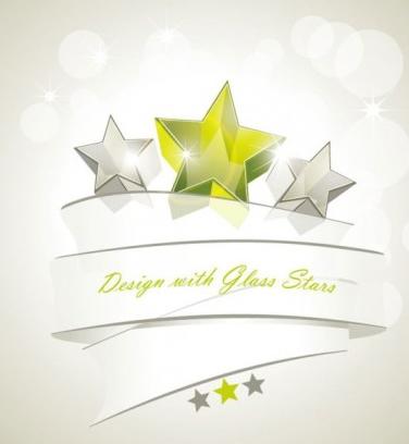 dynamic star background shiny vector
