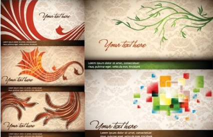 elegance banner background Free vector graphics