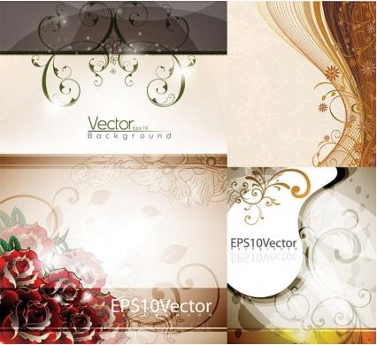elegant background pattern vector