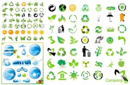 environmental icon Illustration vector