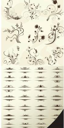 european pattern vector graphics