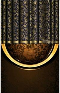 european retro pattern background 01 vector