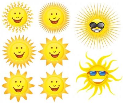 expression sun vectors