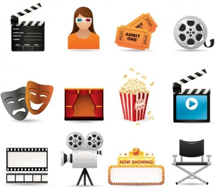 film icon vectors