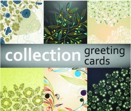 floral pattern design background vector