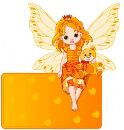 flower fairy 03 vector