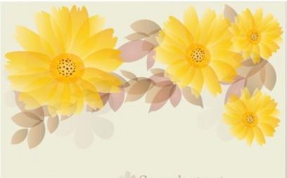 flowers background 01 design vector