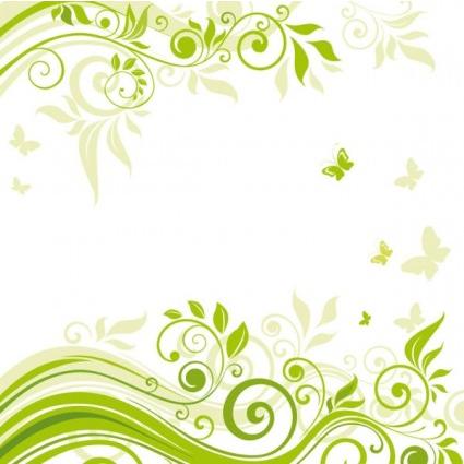 flowers illustration background 02 vectors graphic