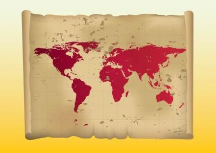 free Map Illustration vector