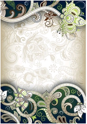 gorgeous classical pattern 2 design vector