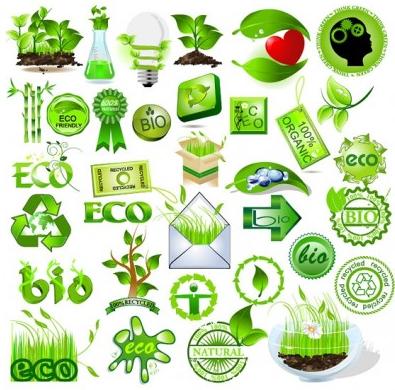 green element vectors graphics