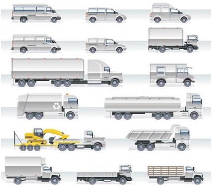 heavyduty vehicles 2 vector