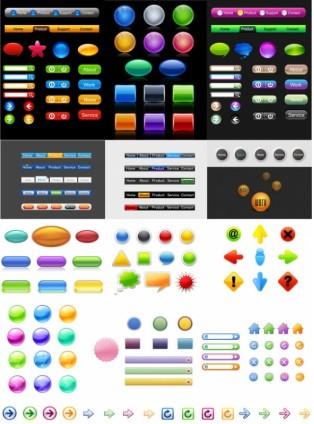 icon go button vectors graphic