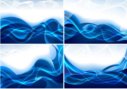 lines blue vectors
