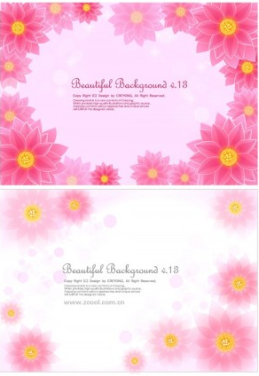 lotus background free vector graphic