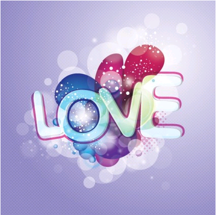 love background vector
