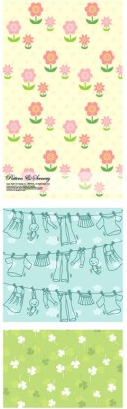 lovely background series 2 vector