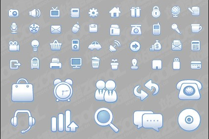 practical web design icon vector design
