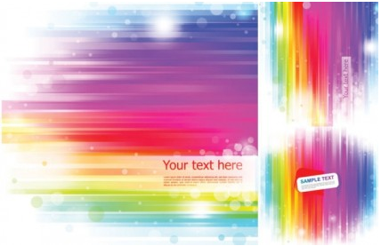 rainbow background Illustration vector