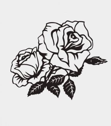 rose pattern vectors graphics
