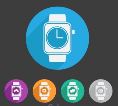 smart watch Free design vectors