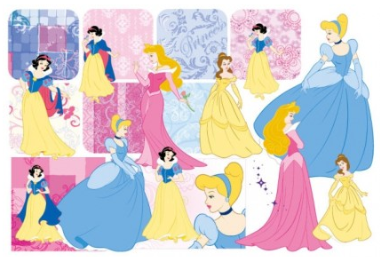 snow white and pattern 2 vector