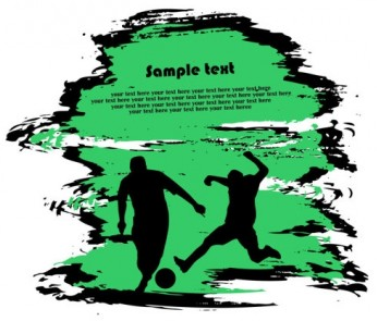 sports silhouette 01 vector