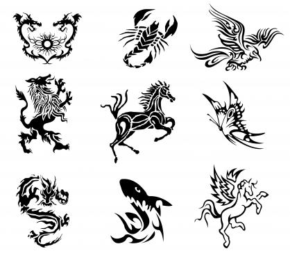 tattoo Free vector